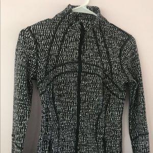 Lululemon black and white jacket